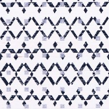 Navy Stream On Marshmallow Manila Hemp Wallcovering by Phillip Jeffries Wallpaper