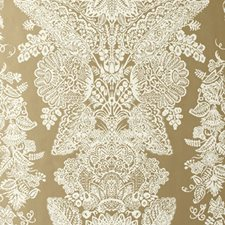 Champagne Wallcovering by Schumacher Wallpaper