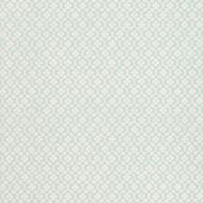 Aqua Wallcovering by Schumacher Wallpaper