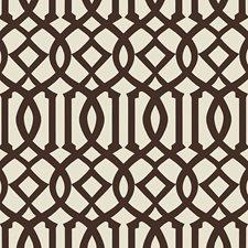 Java/Cream Wallcovering by Schumacher Wallpaper