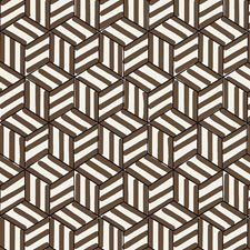 Chocolate Wallcovering by Schumacher Wallpaper
