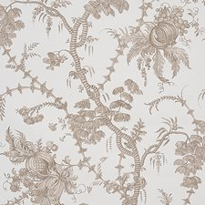 Cocoa Wallcovering by Schumacher Wallpaper