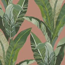Green/Orange/Rust Contemporary Wallcovering by JF Wallpapers