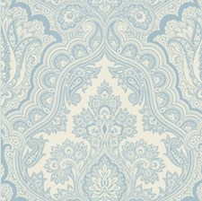 Blue Wallcovering by Brewster