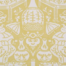 Lemon Wallcovering by Clarence House Wallpaper