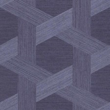 Poised Navy Wallcovering by Phillip Jeffries Wallpaper