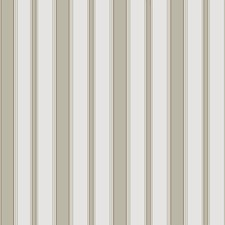 Olive/Wht Stripes Wallcovering by Cole & Son Wallpaper