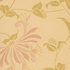 Yellow Wallcovering by Clarence House Wallpaper