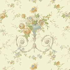White/Off Whites Traditional Wallcovering by York