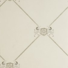 White Novelty Wallcovering by Andrew Martin Wallpaper