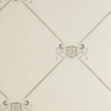White Novelty Wallcovering by Andrew Martin Wallpaper
