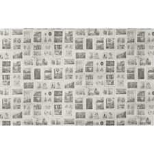 White/Black Novelty Wallcovering by Andrew Martin Wallpaper