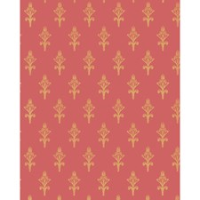 Raspberry Wallcovering by Cole & Son Wallpaper