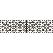 White/Black Bohemian Wallcovering by York