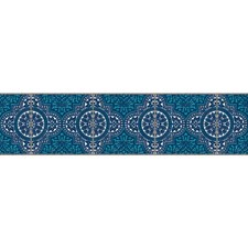 Teal/Blue Bohemian Wallcovering by York