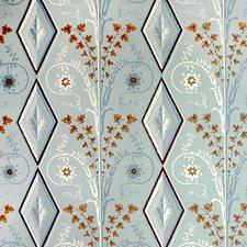 Seafoam Geometric Wallcovering by Brunschwig & Fils