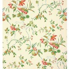 Off-White Botanical Wallcovering by Brunschwig & Fils