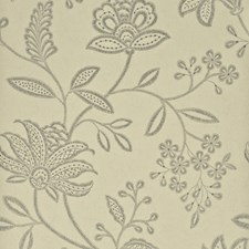Silver/Taupe Botanical Wallcovering by G P & J Baker