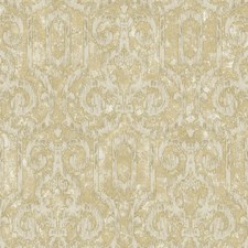 Bronze/Distressed White/Tan Ikat Wallcovering by York