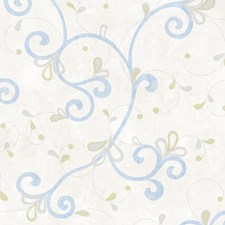 Off-white Transitional Wallpaper Wallcovering by Brewster