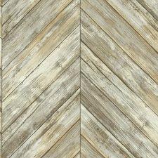 CM3338 Herringbone Wood Boards by York
