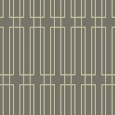 Dark Grey/Gold Glittering Sand Geometrics Wallcovering by York