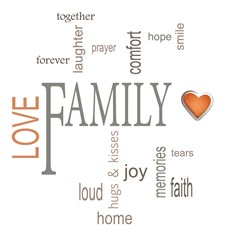 CR-62235 Family Wall Quotes by Brewster