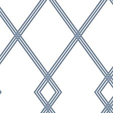CY1507 Ribbon Stripe Trellis by York