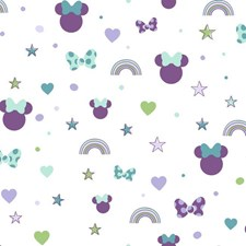 DI0990 Disney Minnie Mouse Rainbow by York