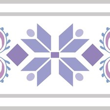 DI1006BD Disney Frozen 2 Elsa's Door Border by York