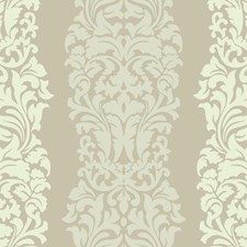 Golden Glow/Cream/Egg Shell Damask Wallcovering by York