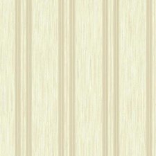 Metallic Gold/Beige/Teal Stripes Wallcovering by York