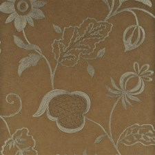 Antique Gold Botanical Wallcovering by Threads
