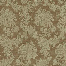 Tan/Metallic Gold/Light Grey Damask Wallcovering by York