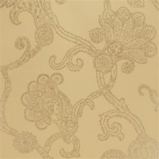 Stone/Old Gold Damask Wallcovering by Mulberry Home