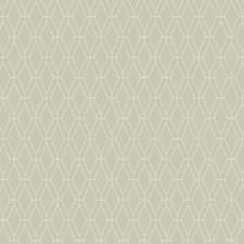Grey/White Geometrics Wallcovering by York