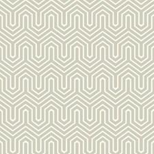 Silver Pearl/Light Grey Geometrics Wallcovering by York
