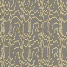 Taupe/Gold Contemporary Wallcovering by Groundworks