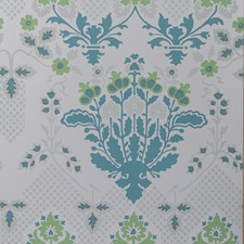 Sea Glass Damask Wallcovering by Groundworks