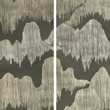 Noir Modern Wallcovering by Groundworks