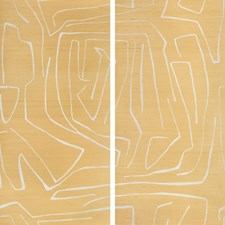 Golden Rod Contemporary Wallcovering by Groundworks