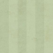 Light and Medium Aqua/Gold Stripe Wallcovering by York