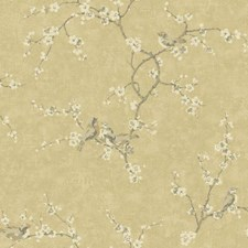 Light Gold/Taupe/Grey Animals Wallcovering by York
