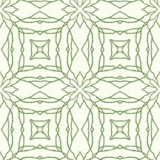 Cream/Bright Green Bohemian Wallcovering by York