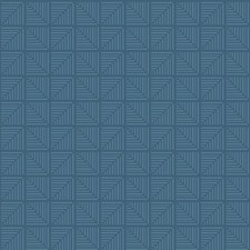 Medium Blue/Light Blue Bohemian Wallcovering by York