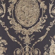 Gilded Ebony Wallcovering by Ralph Lauren Wallpaper