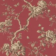 Vermillion Wallcovering by Ralph Lauren Wallpaper