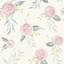 MK1125 Watercolor Roses by York