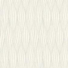 White/Silver Botanical Wallcovering by York