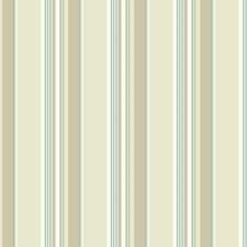 White/Cream/Beige Stripes Wallcovering by York